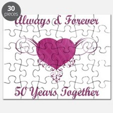 50th Anniversary Heart Puzzle