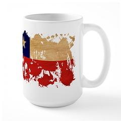 Chile Flag Large Mug