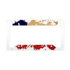 Chile Flag License Plate Holder