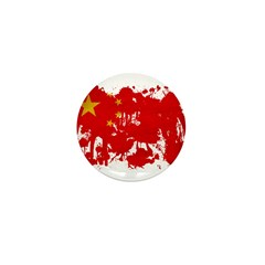 China Flag Mini Button
