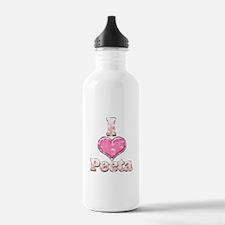 Vintage I Heart Peeta 1 Water Bottle