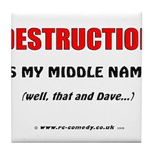 Destruction Tile Coaster