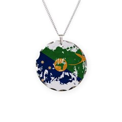 Christmas Island Flag Necklace