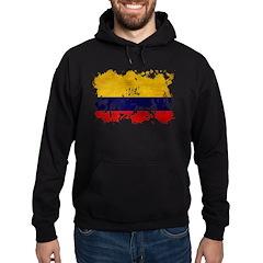 Colombia Flag Hoodie (dark)