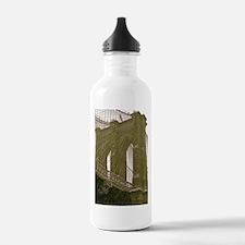Brooklyn Bridge:Flag Water Bottle