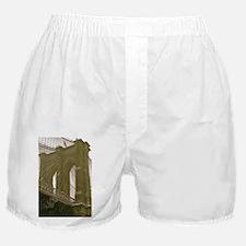 Brooklyn Bridge:Flag Boxer Shorts