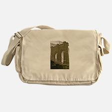 Brooklyn Bridge:Flag Messenger Bag