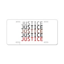 OYOOS Political Justice design Aluminum License Pl