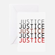 OYOOS Political Justice design Greeting Card