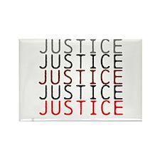 OYOOS Political Justice design Rectangle Magnet