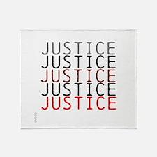OYOOS Political Justice design Throw Blanket