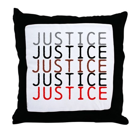 Throw Pillows With Jewels : OYOOS Political Justice design Throw Pillow by oyoos