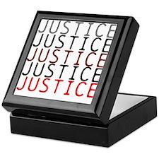 OYOOS Political Justice design Keepsake Box