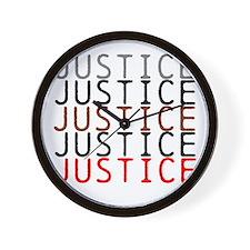OYOOS Political Justice design Wall Clock