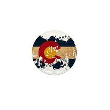 Colorado Flag Mini Button