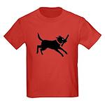 Black Labrador Retriever Kids Dark T-Shirt