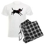 Black Labrador Retriever Men's Light Pajamas