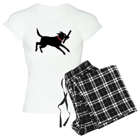 Black Labrador Retriever Women's Light Pajamas