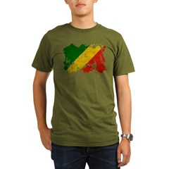 Congo Republic Flag T-Shirt