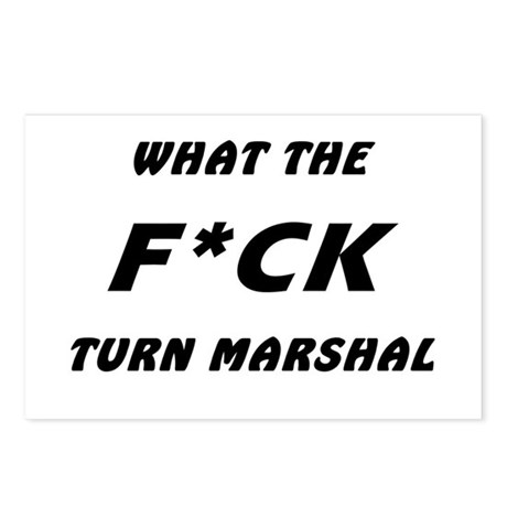 WTF Turn Marshal Postcards (Package of 8)