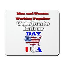 Labor Day USA.:-) Mousepad