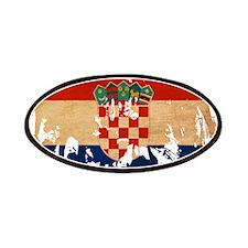 Croatia Flag Patches