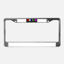 Understanding autism today License Plate Frame