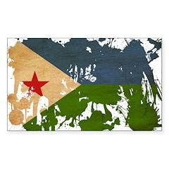 Djibouti Flag Decal