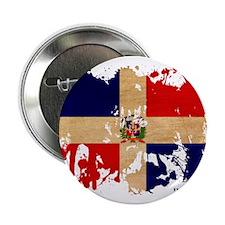 "Dominican Republic Flag 2.25"" Button"