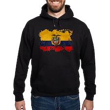 Ecuador Flag Hoodie