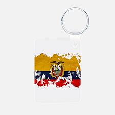 Ecuador Flag Keychains