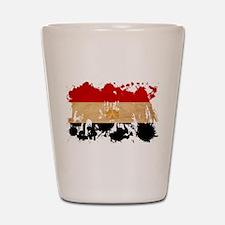 Egypt Flag Shot Glass