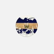 El Salvador Flag Mini Button