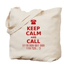 Keep Calm and Call Tote Bag