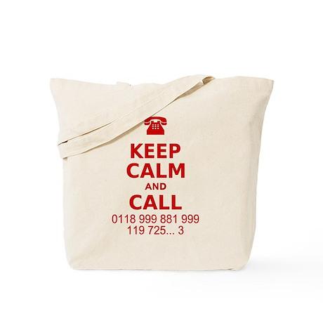 Keep Calm and Call Tote Bag