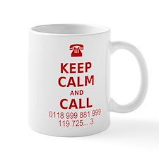 Keep Calm and Call Mug