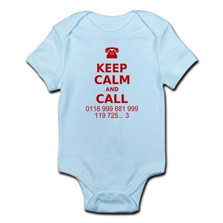 Keep Calm and Call Infant Bodysuit
