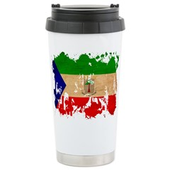 Equatorial Guinea Flag Travel Mug