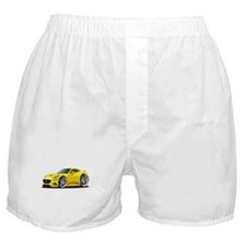 California Yellow Coupe Boxer Shorts
