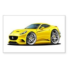 California Yellow Coupe Decal