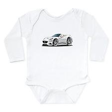 California White Convert Long Sleeve Infant Bodysu