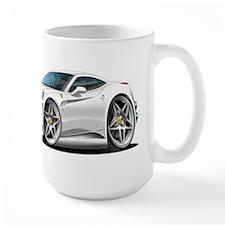 California White Coupe Mug