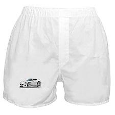 California White Coupe Boxer Shorts