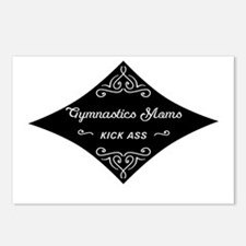 Gymnastics Moms Kick Ass Postcards (Package of 8)
