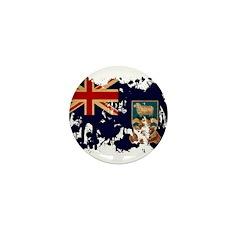 Falkland Islands Flag Mini Button (100 pack)