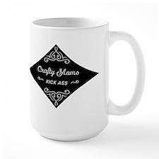 Crafty Moms Kick Ass Mug