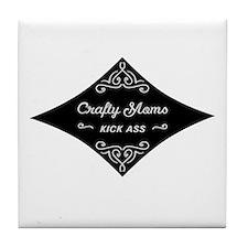 Crafty Moms Kick Ass Tile Coaster
