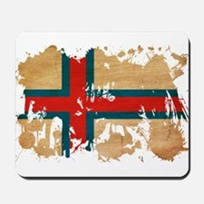 Faroe Islands Flag Mousepad