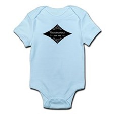 Grandmothers Kick Ass Infant Bodysuit