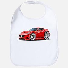 California Red Coupe Bib